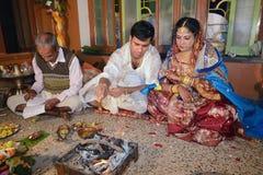 Rituais do casamento Foto de Stock Royalty Free