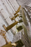 Ritual Ablution Taps. Ablution tap in New Mosque wash area, Istanbul Stock Photography