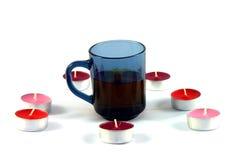 Ritual av att dricka av te Royaltyfri Foto