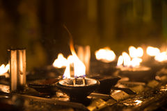 Ritual candles Royalty Free Stock Photo