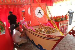 Ritual chino Foto de archivo