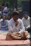 Ritual de Hindus Fotografía de archivo libre de regalías