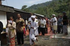 Ritual de Hindus Imágenes de archivo libres de regalías