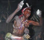 Ritual de Iboga, Bwiti, Gabón Fotografía de archivo libre de regalías