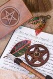 Ritual de Wiccan - Mabon Fotos de archivo libres de regalías