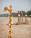 Ritual decorations for traditional Sri Lankan wedding Royalty Free Stock Image