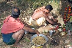 Ritual hindú Fotos de archivo