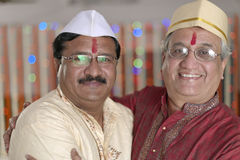 Ritual in Indian Hindu wedding Stock Photos