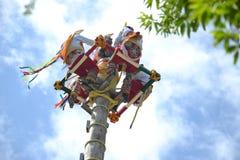 Ritual Maya exotic Yucatan tropical Mexiсо theri Royalty Free Stock Photography