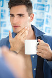 Ritual morning Royalty Free Stock Image