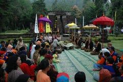 Ritual prayer Stock Images
