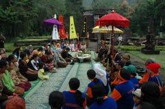 Ritual prayer Royalty Free Stock Photo