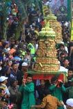 Ritual spread cake apem Royalty Free Stock Image