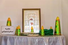 Ritual Zoroastrian Sedreh Pooshi Lizenzfreie Stockbilder