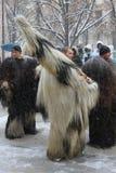Rituale bulgaro tradizionale di Kukeri Fotografie Stock Libere da Diritti