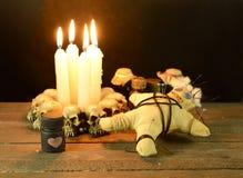 Rituale di voodoo di amore immagini stock libere da diritti