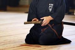 Rituale giapponese Fotografie Stock Libere da Diritti