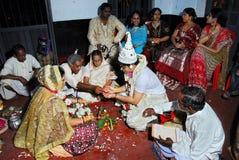 Rituales de la boda Imagen de archivo libre de regalías