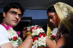 Rituales de la boda en la India Fotos de archivo libres de regalías