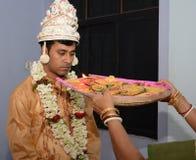 Rituales de la Pre-boda Fotos de archivo libres de regalías