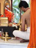 Rituales hindúes Foto de archivo libre de regalías