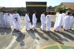 Rituali del pellegrinaggio alla Mecca Fotografie Stock