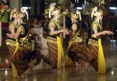 RITUALI TRADIZIONALI INDONESIANI DI NOZZE Fotografia Stock
