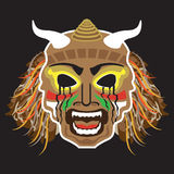 Ritualistic Tribal Mask Stock Photos