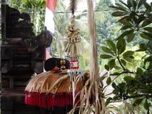 Rituel de Balinese photos libres de droits