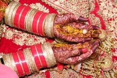 Rituel indien de mariage image stock
