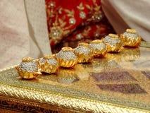 Rituelen van traditioneel Hindoes huwelijk, India Royalty-vrije Stock Foto