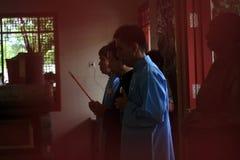 RITUELLA CHENG BENG Royaltyfri Fotografi