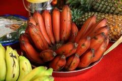 Rituels indous indiens, banane et ananas de mariage Images stock