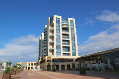 Ritz-Carlton Герцлия в Марине Герцлии Стоковые Фотографии RF