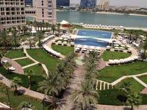 Ritz Carlton Abu Dhabi Royaltyfri Bild