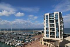 The Ritz-Carlton Herzliya in Herzliya Marina Stock Photos