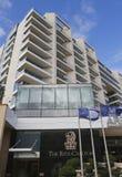 Ritz-Carlton Herzliya w Herzliya Marina Fotografia Stock