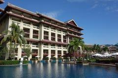 Ritz-Carlton Sanya, bahía de Yalong Foto de archivo