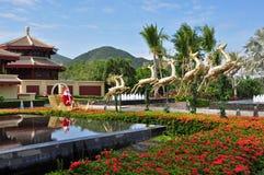 Ritz-Carlton Sanya, baie de Yalong Images libres de droits