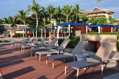 Ritz-Carlton Sanya, baie de Yalong Image libre de droits