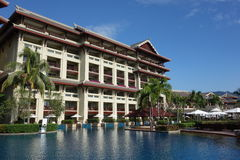 Ritz-Carlton Sanya, Yalong-Bucht Stockfoto