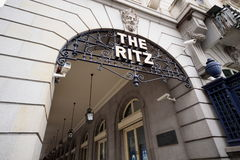 The Ritz Hotel Royalty Free Stock Photos