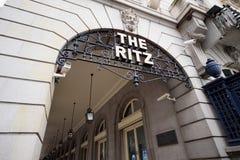 The Ritz Hotel Royalty Free Stock Photos
