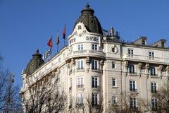 Ritz Hotel Madrid Arkivfoton