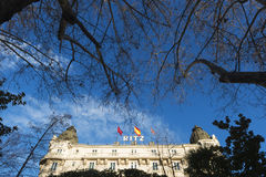 Ritz Hotel, Madrid Royalty Free Stock Image