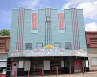 Ritz Theater, Covington, Tennessee Image stock