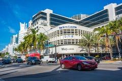 Ritzen-Carlton i Miami Beach, Florida arkivbilder
