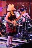 Ritzy Bryan of rock / punk band Joy Formidable Royalty Free Stock Photos