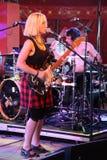 Ritzy Bryan of rock / punk band Joy Formidable Royalty Free Stock Photos