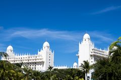 Riu Hotel, Island Aruba royalty free stock images